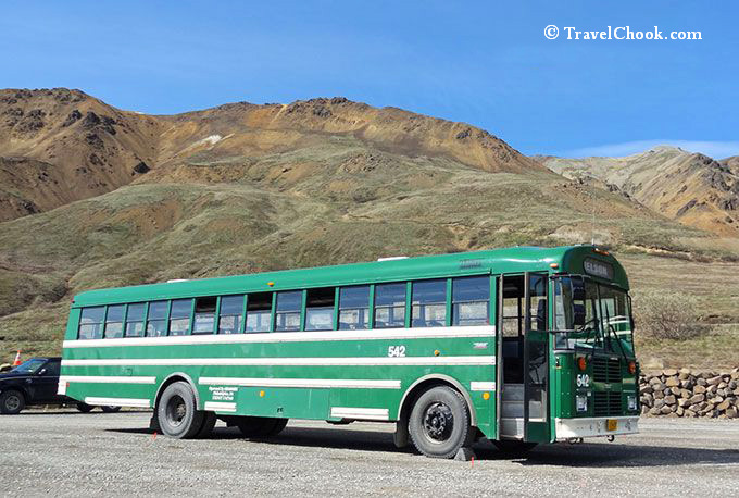 Denali Park Road Shuttle Bus