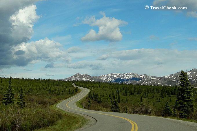 Denali Park Road in Alaska
