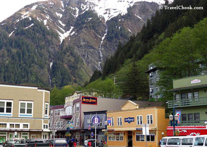 Juneau town centre