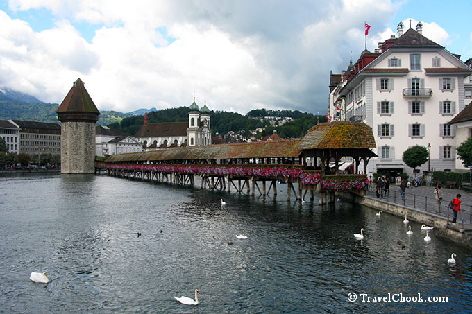 Chapel Bridge (Kapellbrucke) Lucerne