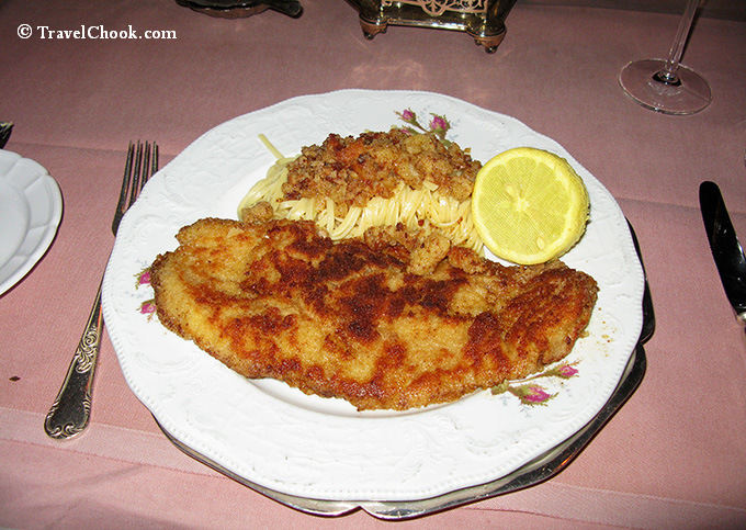 Old-Swiss-House Schnitzel