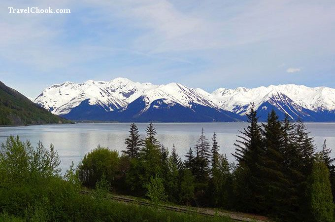 Driving-Seward-Highway-Alaska