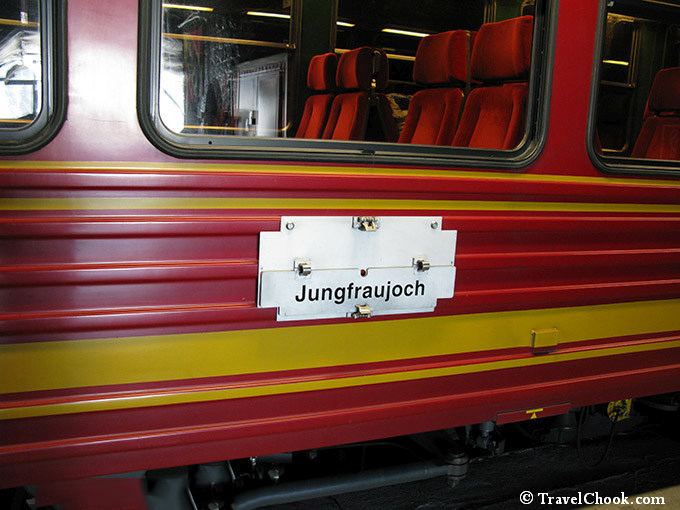 Jungfraujoch-train
