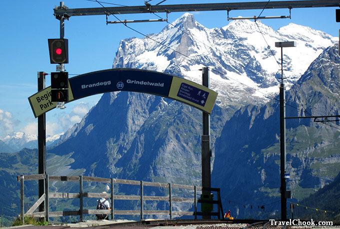 Kleine Scheidegg region