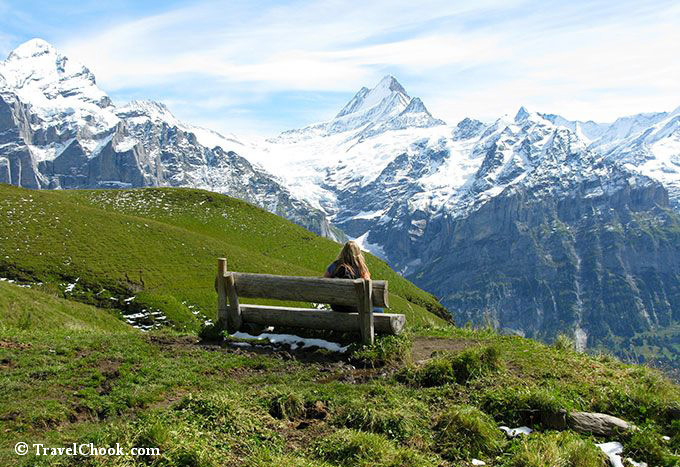 Tracey-scenic hike-Grindelwald