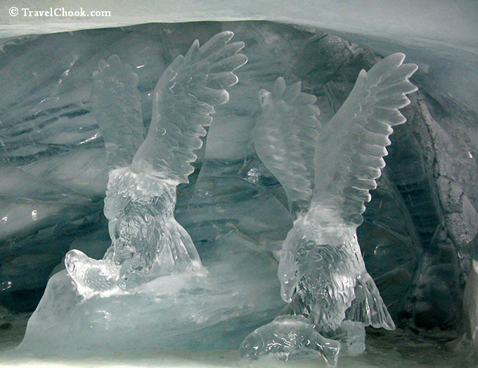 ice-sculptures-at-Jungfraujoch