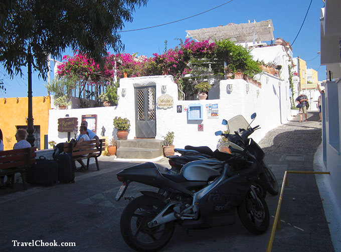 streets of Fira - Santorini