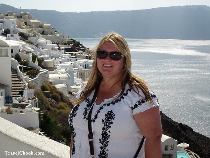 Tracey-in-Santorini