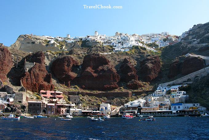 Ammoudi Harbour, Oia