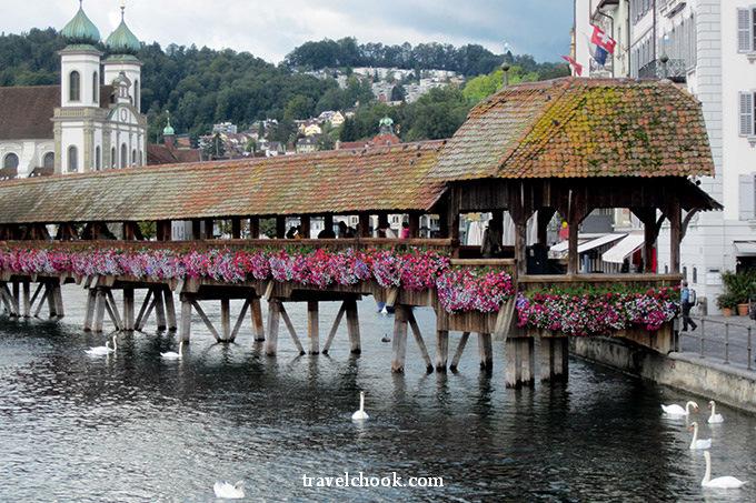 Kapellbrucke Bridge - Lucerne