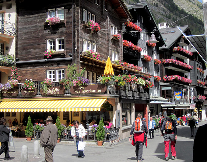 Zermatt village - switzerland itinerary