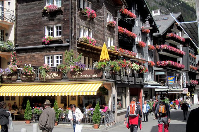 Zermatt - quaint Swiss village
