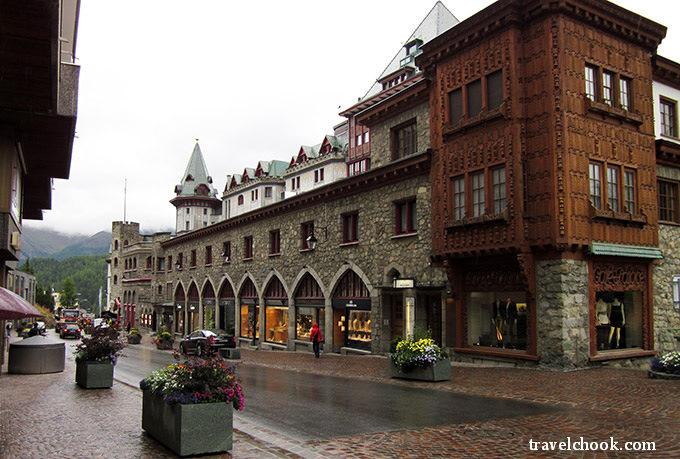 St Moritz street