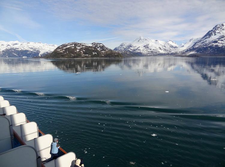 Alaskan cruise; cruising alaska; sapphire princess balcony