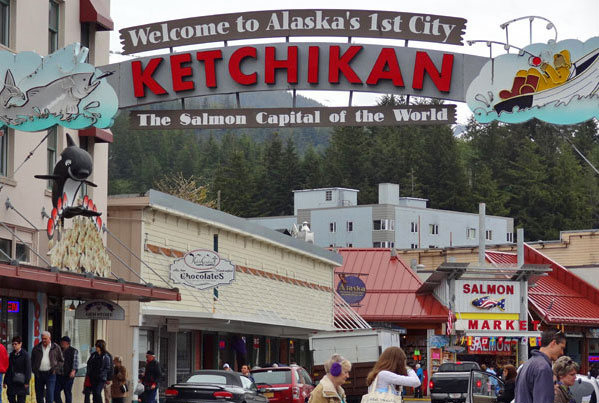 Ketchikan salmon capital of the world